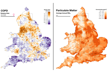 Online Map Allows Local Health Risk Search - Localise Population Profiling